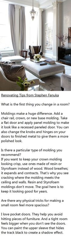 Renovating Tips from Stephen Fanuka, Million Dollar Contractor