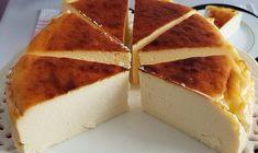 San Sebastian Cheesecake Tarifi için Malzemeler 600 gr taze peynir krem beyaz (pınar beyaz, içim beyaz, torku krempare, sek beyaz) 1 su bardağı şeker 4 yumurta 400 ml krema 1.5 yemek kaşığı nişasta Sa Cream Cheese Cheesecake, Best Cheesecake, Classic Cheesecake, Easy Cheesecake Recipes, Cheesecake Bites, Pumpkin Cheesecake, Easy Cake Recipes, Dessert Recipes, Desserts