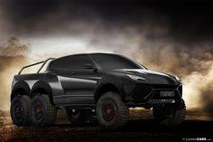 Lamborghini URUS 6×6: El Nuevo Rey De Las Carreteras Off-Roads