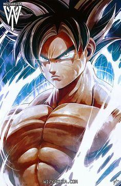 Dragon Ball Super :Son Goku by Wizyakuza Dragon Ball Gt, Wizyakuza Anime, Manga Dragon, Super Anime, Image Manga, The Villain, Anime Comics, Naruto Shippuden, Anime Art