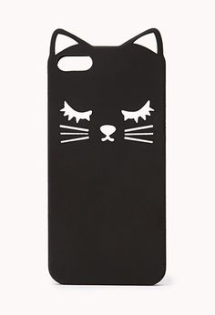 Cool Cat Phone Case | FOREVER21 - Emily and Yaz we need this!!!