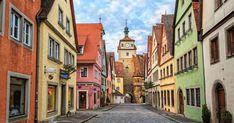 Märchenhafte Städte in Deutschland