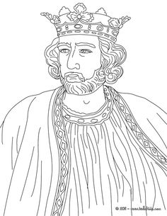 king edward i england coloring page