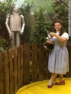 Dorothy's House & the Land of Oz | You can follow ruby-slippered Dorothy guides along a yellow brick road at Dorothy's House & the Land of Oz in Liberal, Kansas. Never mind that the entire movie was filmed indoors at MGM Studios in Culver City, California.