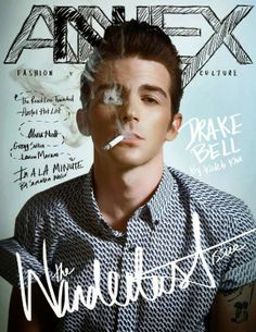 "Male Fashion Trends: Drake Bell para Annex Magazine #8 ""The Walterdust Issue"""