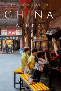China Travel Inspiration - Important tips for traveling in China with children including transportation, medication, navigating crowds, practical matters and more. In China, Best Family Vacations, Family Travel, Shanghai, Peking, Flying With Kids, Visit China, China Travel, China Trip