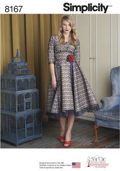 Sew Chic for Simplicity Sewing Pattern 1061