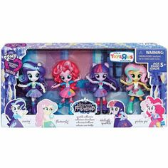 """Toys""""R""""Us Shows Equestria Girls Minis Sparkle Collection"""