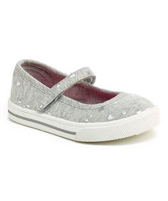 Love this Gray & Silver Glitter Victoria Mary Jane on #zulily! #zulilyfinds