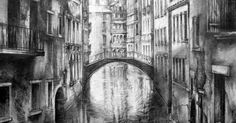 Fragments of Venice, Graphite, Ian Murphy