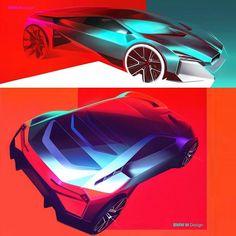 Design Autos, Bmw Design, Car Design Sketch, Auto Design, Bmw Sketch, Mexico 2018, Car Drawings, Transportation Design, Future Car