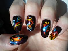 how cool..wish i was that talented on nails