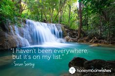 One of our favorite travel quotes! Where would you like to go to...right now?