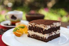Fantasztikus tiramisukrémes süti: egyszerű kakaós piskóta az alapja - Recept | Femina Cheesecake, Mint, Sweets, Ethnic Recipes, Touch, Foods, Marmalade, Food Food, Food Items