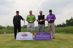 The Winning Team from Priory Homes, with Alan Pither and Ken Smith http://www.prioryhomes.co.uk/
