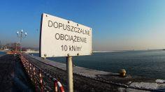 Końcówka zimy, trochę lodu i śniegu :) Nabrzeże Francuskie, Gdynia