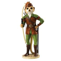 Magnificent Meerkats Robin Figurine Available @ Li'l Treasures $89 - Australian Store