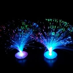 Fiber Optic UFO Centerpiece  $4.00