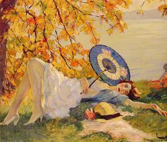 Edward Cucuel (1875, San Francisco -1954, Pasadena, California)