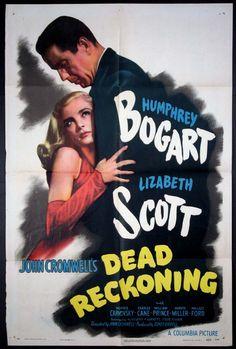 DEAD RECKONING Movie Poster (1947)    FILM NOIR Movie Posters @ FilmPosters.Com - Vintage Movie Posters and More