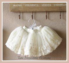 Cream Romance Skirt