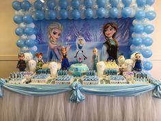 30 ideias de decoração Frozen – Blog Inspire sua Festa