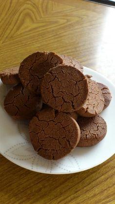 袋1つで簡単10分ザクザクココアクッキー