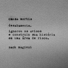 R.I.P  #zackmagiezi  #causamortis