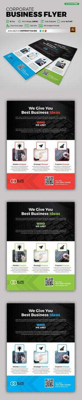 Product Promotion Flyers Bundle Creativework  Flyer