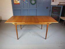 Retro Vintage Mid Century 60s Mcintosh Extending Teak Dining Table Danish G Plan