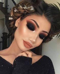 Gorgeous Makeup: Tips and Tricks With Eye Makeup and Eyeshadow – Makeup Design Ideas Glam Makeup, Dramatic Makeup, Cute Makeup, Gorgeous Makeup, Pretty Makeup, Makeup Inspo, Eyeshadow Makeup, Makeup Inspiration, Hair Makeup
