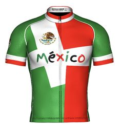 Countries Collection Cycling Jerseys, Cycling Outfit, Apparel Design, Jersey Shorts, Bibs, Countries, Caribbean, First Love, Mexico