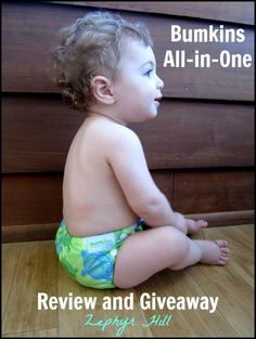 Bumkins AIO Diaper Review & Giveaway