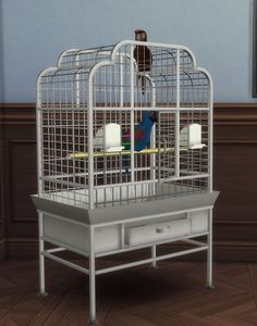 2 to 4 Bird Cage by BigUglyHag at SimsWorkshop • Sims 4 Updates