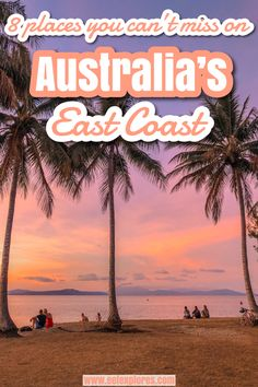Are you planning to travel in Australia and go up or down the East Coast? Make sure you do not miss out on visiting these 8 beautiful spots. Australia Honeymoon, Coast Australia, Australia Travel, Visit Sydney, Harbor Bridge, Mission Beach, Learn To Surf, Bondi Beach, Byron Bay