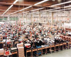 Andreas Gursky  Siemens, Karlsruhe, Germany , 1991    Mixed Media, 200X170 cm.
