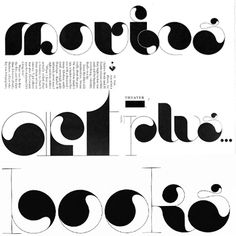 Sexy display typeface. I mean... wow.