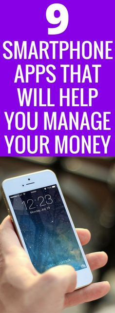 Managing money can be hard! Gone are the days of balancing the checkbook and keeping receipts tracked. We are living in the 21st century, we all have smartphones. The convince to manage our money better is literally at our fingertips! Here are 9 Smartphone apps that will help you budget and save your money. Make money work for you! Budget | Save Money | Smartphone App | Ibotta | Mint | Finances | Money Management | Invest | via @TheSavvyCouple