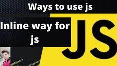 Inline a way of Adding JavaScript (Hindi + urdu) Hacker World, Inline, Tech Companies, Company Logo, Ads, Logos, Logo, Legos