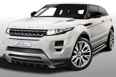 Arden, a specialist in tuning premium British vehicles, has upgraded the new Range Rover Evoque, with more power and a subtle exterior makeover on its AR8 City-Roader. The AR8 City-Roader package takes the 2.0-liter turbo gasoline engine found in the Evoque and adds a new handmade stainless steel exhaust system and high performance catalyst. These additions make for a 30hp increase, from 240hp to 270hp.