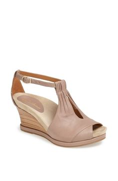 Free shipping and returns on Earthies® 'Seria' Sandal at Nordstrom.com. Soft pleats and sweeping lines lend striking sophistication to a chic, summery wedge with a comfortable cushioned footbed.