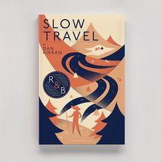 Slow Travel - Matt Chase | Design, Illustration