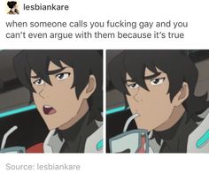 VLD spoof - that's debatable, Keith's expression is perfect