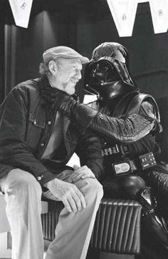 Irvin Kershner & Darth Vader