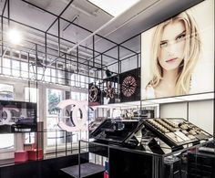BEAUTY STORES! Chanel Beauty Pop Up Shop, London store design