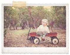 fall portrait like the wagon idea