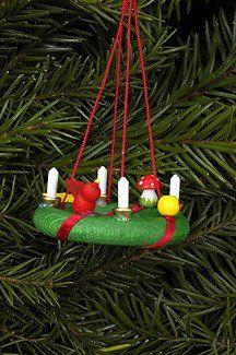 """Christmas Wreath - Advent Wreath - 2"""""""