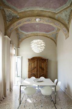 Home Design, Design Ideas, Patio Design, Interior Inspiration, Room Inspiration, Interior Architecture, Interior And Exterior, Classic Architecture, Pink Room