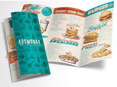 diseño carta restaurante barcelona