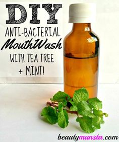 Read the TOP 7 MELALEUCA Oil BENEFITS. MELALEUCA DIY recipes Keep your teeth and gums healthy with this antibacterial soothing mint tea tree mouthwash recipe! This tea tree mouthwash recipe contains only natural ingredients and won't burn your mou Doterra, Baking Soda Shampoo, Baking Soda Uses, Best Tea Tree Oil, Homemade Mouthwash, Diy Haircare, Oil Benefits, Natural Beauty Tips, Beauty Recipe